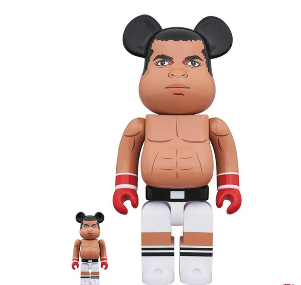 Be@rbrick Muhammad Ali 100% & 400% Set Be@rbrick Medicom Toy