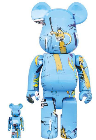 BE@RBRICK Jean Michel Basquiat No. 4 100% & 400% Set BE@RBRICK Medicom Toy