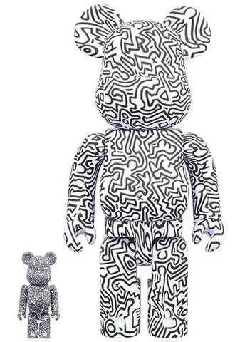 BE@RBRICK Keith Haring #4 100% & 400% Set Pre-order Medicom Toy