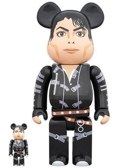 BE@RBRICK Michael Jackson BAD 100% & 400% Set Pre-order Medicom Toy