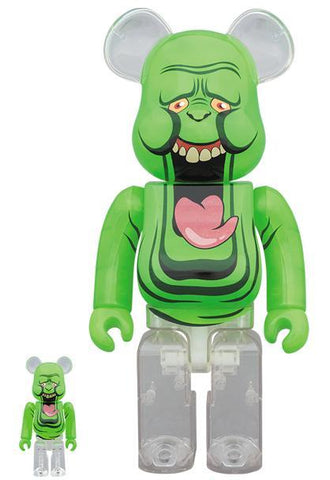 BE@RBRICK Slimer (Green Ghost) 100% & 400 % Set Pre-order Medicom Toy