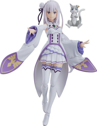 Figma Emilia (Re-Run): Re:Zero Pre-order Good Smile Company
