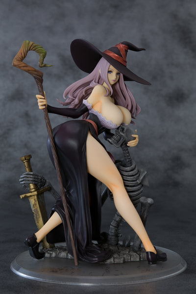 Dragon's Crown: Sorceress Darkness Crow Ver. 1/6 Scale Figure Pre-order Orchid Seed