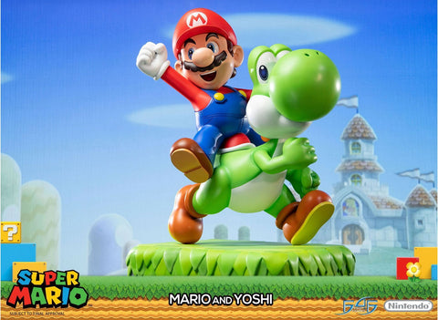 Super Mario: Mario & Yoshi Standard Edition Non-Scale Figure Pre-order First 4 Figures