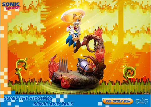 Sonic The Hedgehog: Sonic and Tails Standard Edition Non-Scale Figure Pre-order First 4 Figures
