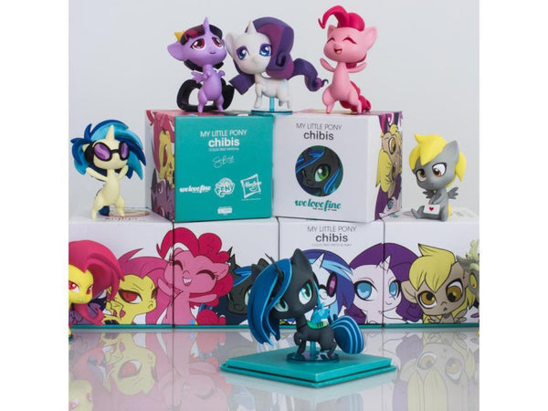 My Little Pony Chibi Vinyl Series 1 Set Non-Scale Figure For Fans By Fans