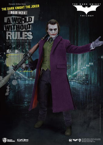 DC Comics: Dynamic 8ction Heroes The Joker (The Dark Knight Ver.) Non-Scale Figure Non-Scale Figure Beast Kingdom