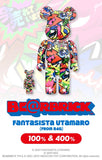 BE@RBRICK Fantasista Utamaro (from R4G) 100% & 400% set Pre-order Medicom Toy
