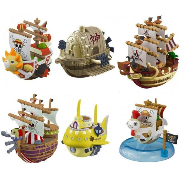 One Piece: Yurayura Pirate Ship Collection 3 Collectible Megahouse