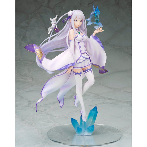 Re:Zero -Starting Life in Another World-: Emilia PVC Non-scale Figure Pre-order Megahouse