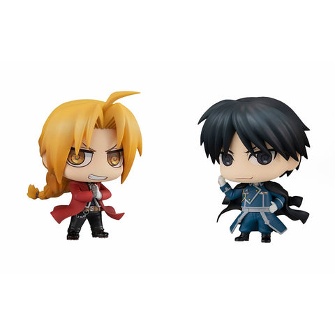 Fullmetal Alchemist: Chimimega Buddy Series Fullmetal Alchemist Edward Elric & Roy Mustang Set Non-Scale Figure Non-Scale Figure Megahouse