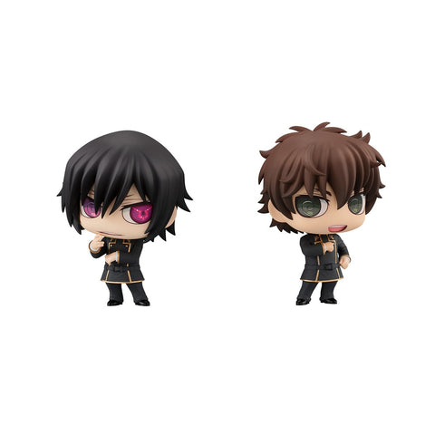 Code Geass Lelouch Of The Rebellion: Chimi-Mega Lelouch & Suzaku Pre-order Megahouse