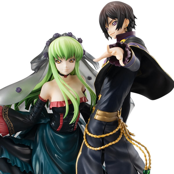 Precious G.E.M. Code Geass Lelouch Of The Re; Surrection L.L. and C.C. Set Pre-order Megahouse
