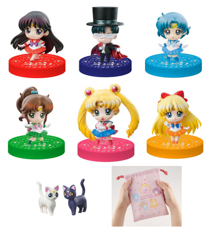Sailor Moon: Petit Chara Sailor Moon (2020 Petit Punishment Ver.) and Limited Drawstring Bag Set Non-Scale Figure Non-Scale Figure Megahouse