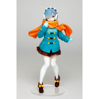 Re:Zero -Starting Life in Another World-: Rem Winter Cloth Ver. Prize Figure Taito