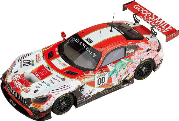 Hatsune Miku GT Project: 1/43 Good Smile Hatsune Miku AMG 2017 Spa 24H Ver. Free Expedited Shipping Good Smile Company