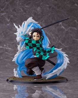 Demon Slayer Kimetsu no Yaiba: Tanjiro Kamado Deluxe Version [Constant Flux] 1/8 Scale Figure Pre-order Aniplex