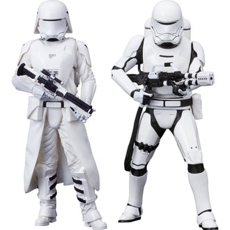 Star Wars The Force Awakens: First Order Snowtrooper & Flametrooper Two Pack ARTFX+ 1/10 Scale Figure Kotobukiya
