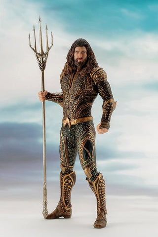 Justice League Movie: Aquaman ARTFX+ 1/10 Scale Figure Kotobukiya