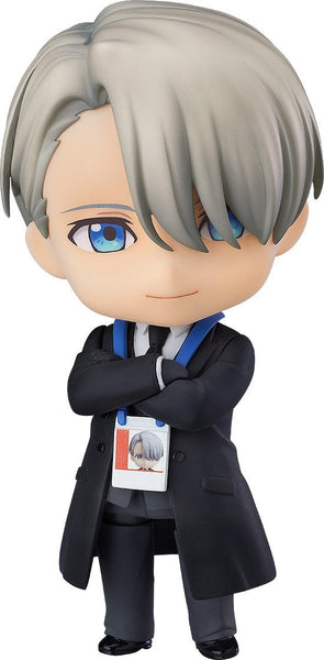 "Nendoroid Victor Nikiforov: Coach Ver. ""YURI!!! on ICE"" Nendoroid Orange Rouge"
