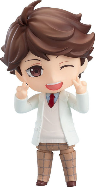 "Nendoroid Toru Oikawa: School Uniform Ver. ""Haikyu!!"" Nendoroid Orange Rouge"