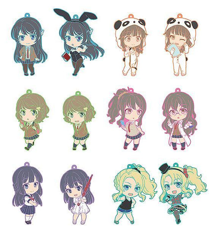 Nendoroid Plus Collectible Keychains: Rascal Does Not Dream Of Bunny Girl Senpai Goods Good Smile Company