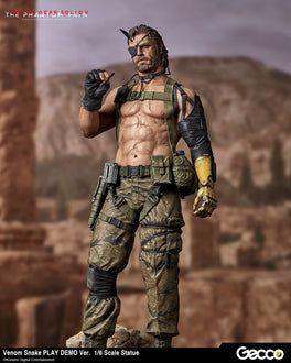 Metal Gear Solid V: The Phantom Pain Venom Snake Play Demo Ver. 1/6 Scale Figure 1/6 Scale Figure Gecco
