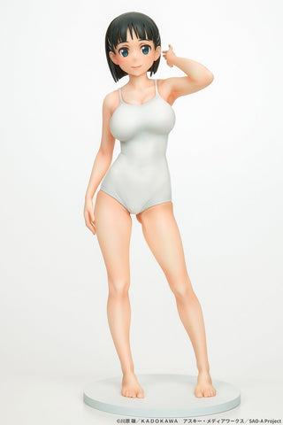 Sword Art Online: Suguha Kirigaya (White Swimsuit Ver.) 1/7 Scale Figure Pre-order Q-six