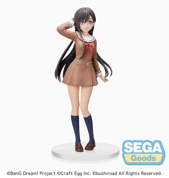 BanG Dream! Girls Band Party!: Tae Hanazono (School-Days) PM Prize Figure Pre-order SEGA