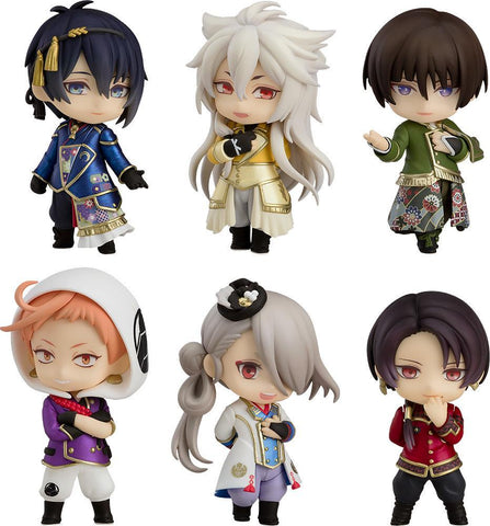 Touken Ranbu: The Musical Nendoroid Petite Set -Atsukashiyama Ibun- Chibi Orange Rouge