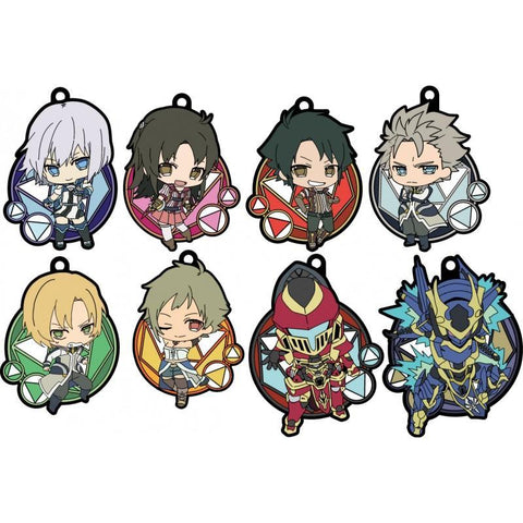 Knight's & Magic: Genco Rubber Strap Collection Goods Gecco
