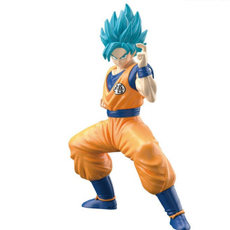 Dragon Ball: #2 SSGSS Son Goku Bandai Spirits Entry Grade Model Kit Model Kit Bandai