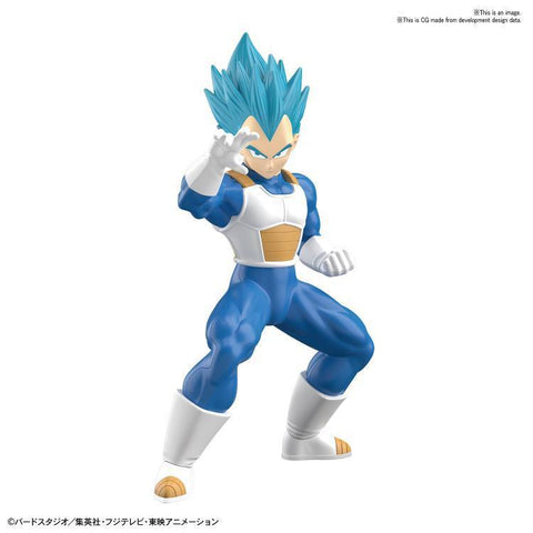 Dragon Ball: #3 SSGSS Vegeta Bandai Spirits Entry Grade Model Kit Pre-order Bandai