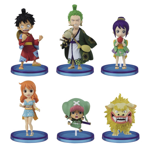 One Piece World Collectable Figure -Wanokuni 1- Pre-order Banpresto