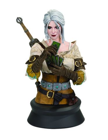 The Witcher 3 - Wild Hunt: Ciri Playing Gwent Bust Pre-order Dark Horse Comics