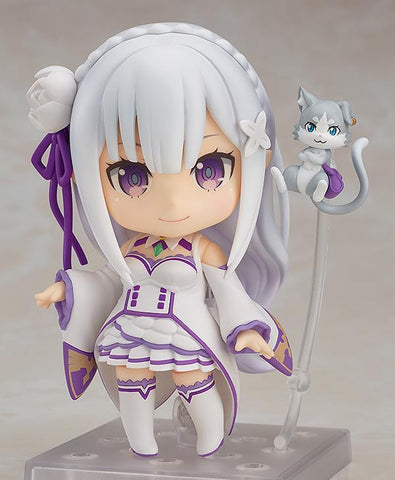 Nendoroid Emilia (re-run): Re:Zero -Starting Life in Another World- Pre-order Good Smile Company