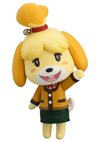 Nendoroid Shizue (Isabelle) Winter Ver. (re-run): Animal Crossing New Leaf Pre-order Good Smile Company