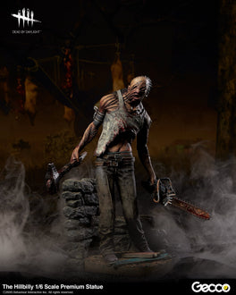 Dead by Daylight the Hillbilly Premium Statue 1/6 Scale Figure Pre-order Gecco