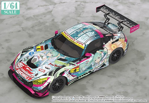 1/64 Scale Good Smile Hatsune Miku AMG 2017 Super GT Ver. Pre-order Good Smile Racing