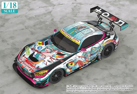 1/18th Scale Good Smile Hatsune Miku AMG 2016 Super GT Ver. No Longer Available Good Smile Racing