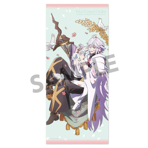 Fate/Grand Order Absolute Demonic Front: Babylonia Microfiber Towel Merlin & Fou Goods Hobby Stock