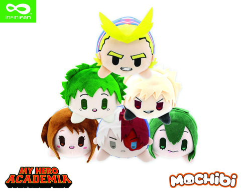 My Hero Academia: Mochibi Series 1 Base Set 6 Piece PDQ Plush Pre-order Infinifan