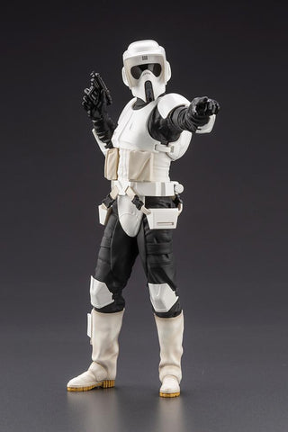 Star Wars: Return Of The Jedi ARTFX+ Scout Trooper 1/10 Scale Figure Pre-order Kotobukiya