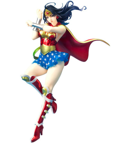 DC Comics: Armored Wonder Woman 2nd Edition Bishoujo Statue 1/7 Scale Figure Pre-order Kotobukiya