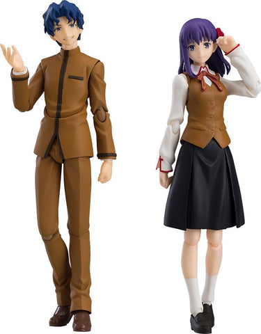 figma Shinji Matou & Sakura Matou: Fate/stay night figma Max Factory