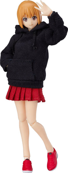 figma Styles Female Body (Emily) With Hoodie Outfit Pre-order Max Factory