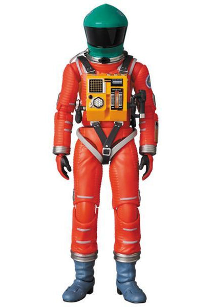 MAFEX 2001: A Space Odyssey Space Suit Green Helmet & Orange Suit Ver. MAFEX Medicom Toy