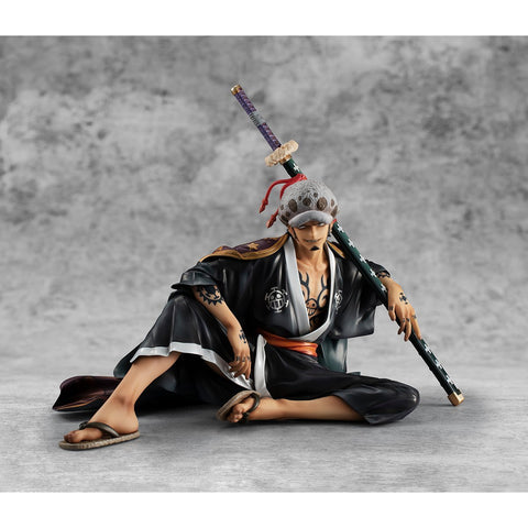 "One Piece: Portrait of Pirates ""Warriors Alliance"" Trafalgar Law 1/8 Scale Figure Pre-order Megahouse"