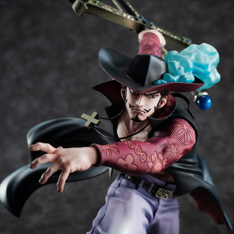 "One Piece Portrait of Pirates ""Neo-Maximum"" Dracule Mihawk Pre-order Megahouse"