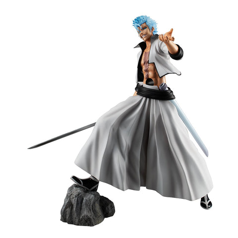 Bleach: G.E.M. Bleach Grimmjow Jeagerjaques Non-Scale Figure Pre-order Megahouse